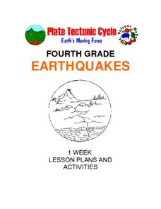 Earthquakes: Fourth Grade Lesson Plans and Activities Unit