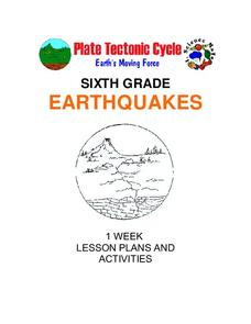 Earthquakes: Sixth Grade Lesson Plans and Activities Unit