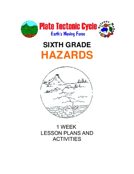 Hazards: Sixth Grade Lesson Plans and Activities Unit