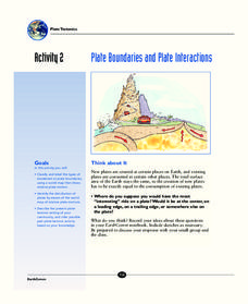 Plate Boundaries and Plate Interactions Activities & Project
