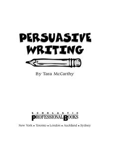 Persausive Writing Unit