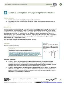Making Scale Drawings Using the Ratio Method Lesson Plan