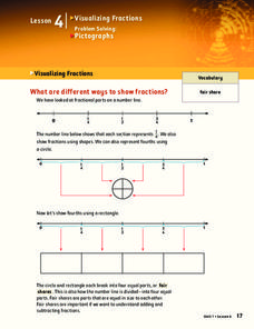 Visualizing Fractions Lesson Plan