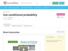 Use Conditional Probability Video