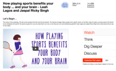 How Playing Sports Benefits Your Body ... and Your Brain Video