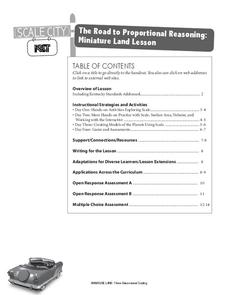 The Road to Proportional Reasoning Lesson Plan