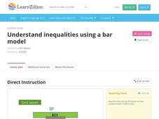 Understand Inequalities Using a Bar Model Video