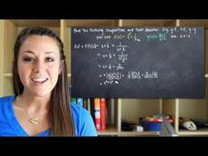 Composite Functions and Their Domains Video