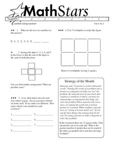 Math Stars: A Problem-Solving Newsletter Grade 6 Worksheet