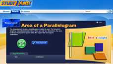 Study Jams! Area of a Parallelogram Interactive