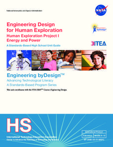 Engineering Design for Human Exploration Unit