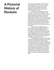 A Pictorial History of Rockets Handouts & Reference