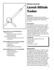 Launch Altitude Tracker Lesson Plan