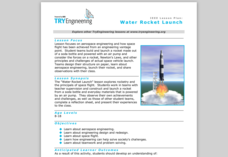 Water Rocket Launch Lesson Plan