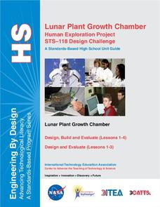 Lunar Plant Growth Chamber Unit