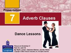 Adverb Clauses Presentation