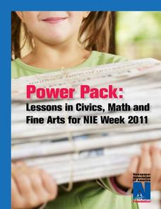 Power Pack: Lessons in Civics, Math, and Fine Arts Worksheet