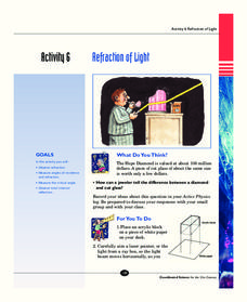 Refraction of Light Activities & Project