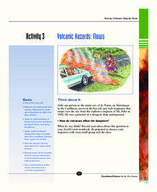 Volcanic Hazards: Flows Activities & Project