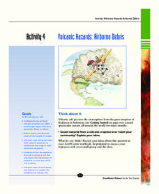 Volcanic Hazards: Airborne Debris Activities & Project