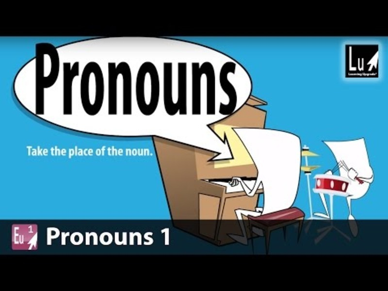 Pronouns 1 Song Video