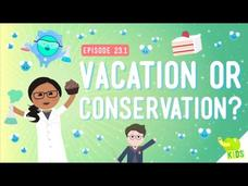 Vacation or Conservation (Of Mass) Video