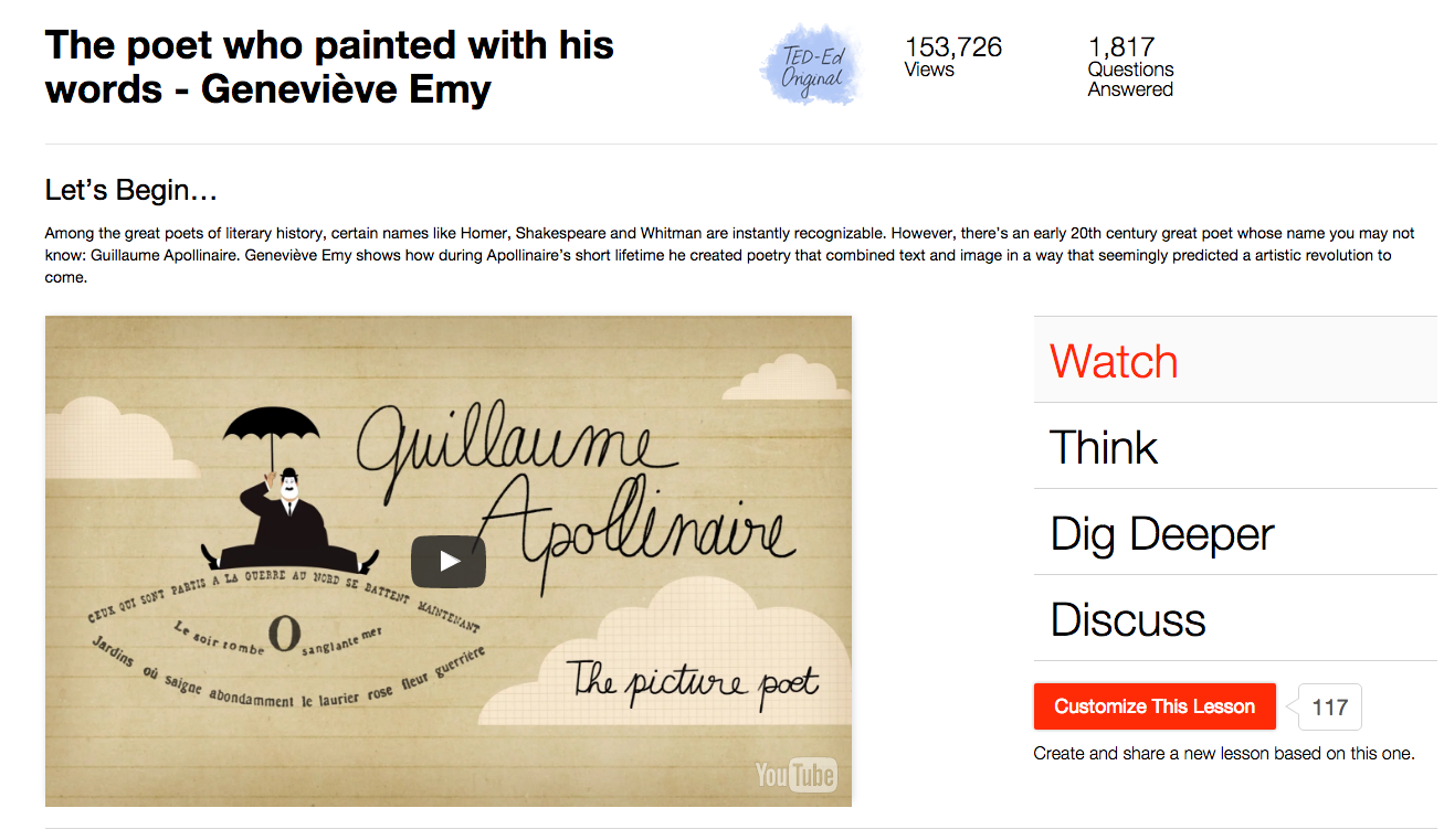 The Poet Who Painted with His Words Video