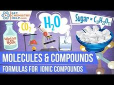 Chemistry Lesson: Formulas for Ionic Compounds Video