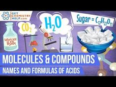 Chemistry Lesson: Names and Formulas of Acids Video