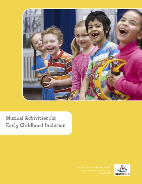 Musical Activities for Early Childhood Inclusion Activities & Project