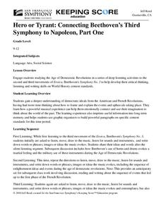 Hero or Tyrant: Connecting Beethoven's Third Symphony to Napoleon, Part One Unit