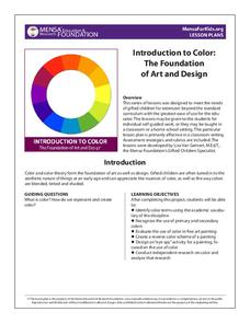 Introduction to Color: The Foundation of Art and Design Lesson Plan