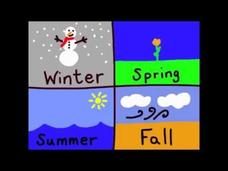 """The Seasons Song"" - English Lesson on The Four Seasons Video"