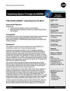 The Lunar Lander – Ascending from the Moon Lesson Plan