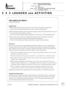 Influence of Media Lesson Plan