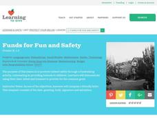 Funds for Fun and Safety Lesson Plan