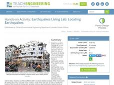 Earthquakes Living Lab: Locating Earthquakes Activities & Project