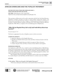 African American History Lesson Plans & Worksheets | Lesson Planet
