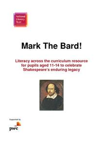 Mark The Bard! Lesson Plan
