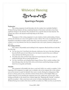 Wildwood Dancing: Rewriting a Fairytale Activities & Project