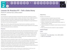 Practice PT - Tell a Data Story Lesson Plan