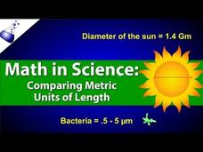 Comparing Metric Units of Length Video