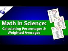 Calculating Percentages and Weighted Averages Video