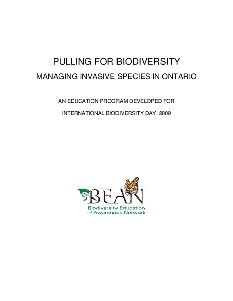 Pulling for Biodiversity Unit
