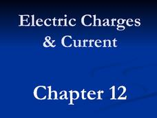 Electric Charges and Current Presentation