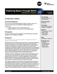 An Astronaut in Motion Lesson Plan