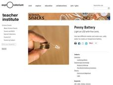 Penny Battery Activities & Project