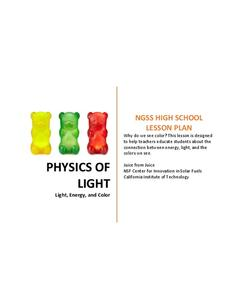 Physics of Light Lesson Plan