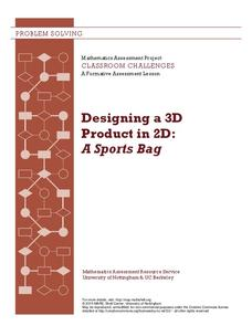 Designing a 3d Product in 2d: a Sports Bag Lesson Plan