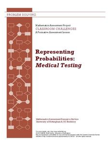 Representing Probabilities: Medical Testing Lesson Plan
